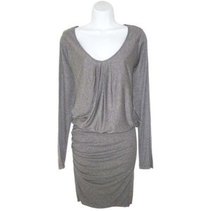 Velvet Graham & Spencer Dolman Ruched Dress P XS